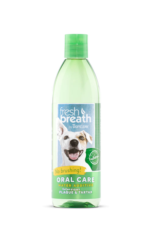 Oral-care-water-additive-for-dogs